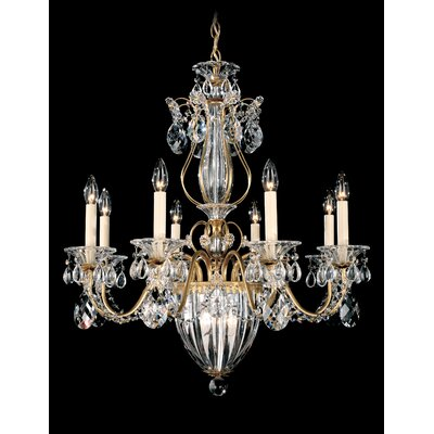 Bagatelle 11-Light Crystal Chandelier Crystal Type: Spectra Clear, Finish: Etruscan Gold