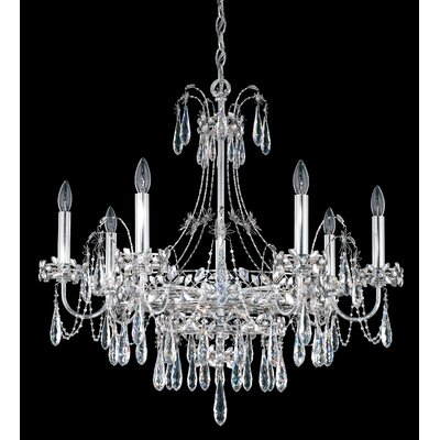 Ekaterina 7-Light Crystal Chandelier Finish: Stainless Steel