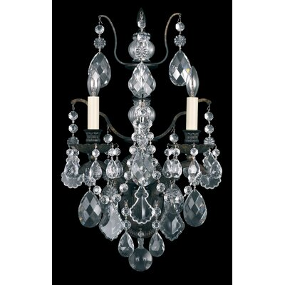 Bordeaux 4-Light Mini Chandelier Finish: Antique Silver, Crystal Type: Legacy Clear