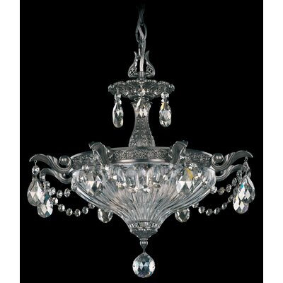 Milano 2-Light Bowl Pendant Finish: Heirloom Bronze, Crystal Type: Swarovski Elements Silver Shade
