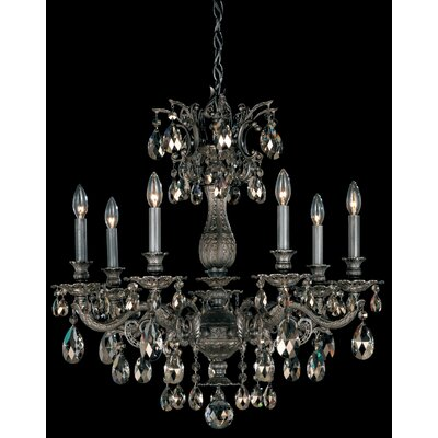 Milano 7-Light Crystal Chandelier
