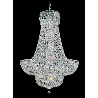Petit 23-Light Empire Chandelier Crystal Type: Gemcut Clear
