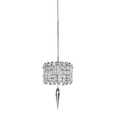 Matrix 1-Light Drum Pendant Crystal Type: Spectra Clear