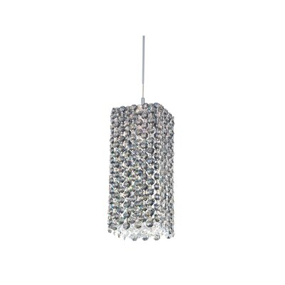 Refrax 1-Light Mini Pendant Crystal Type: Swarovski Elements Clear