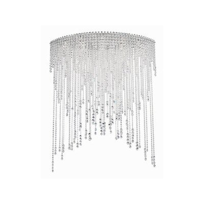 Chantant 8-Light Flush Mount Crystal Type: Spectra Crystal Clear