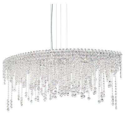 Chantant 8-Light Crystal Pendant Crystal Type: Spectra Clear