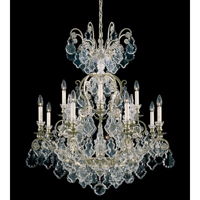Versailles 13-Light Candle-Style Chandelier