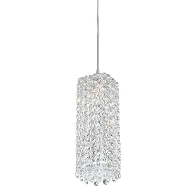 Refrax 1-Light Mini Pendant Crystal Type: Swarovski Elements Black Diamond