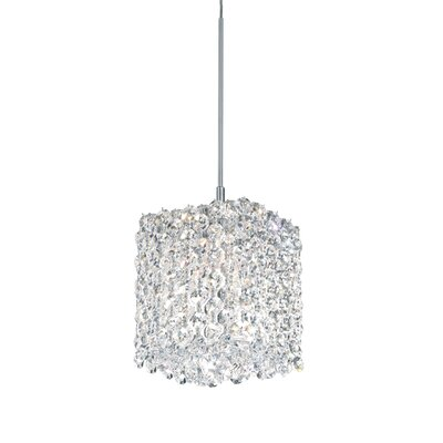 Refrax 1-Light Mini Pendant Crystal Type: Swarovski Elements Azurite