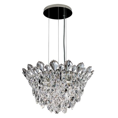 Trilliane 4-Light Inverted Pendant Crystal Grade: Heritage Handcut