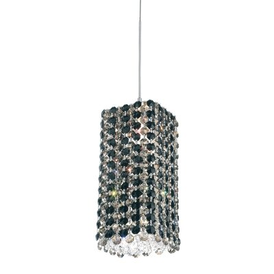Refrax 1-Light Mini Pendant Crystal Type: Swarovski Elements Jaguar