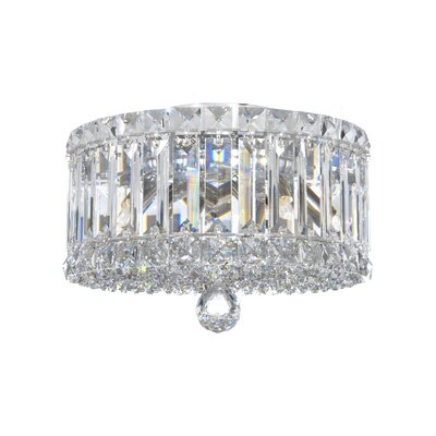 Plaza 4-Light Flush Mount Crystal Type: Swarovski Elements Clear