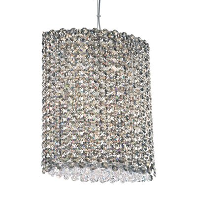 Refrax 6-Light Crystal Pendant Crystal Type: Swarovski Elements Azurite
