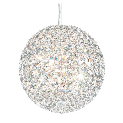 Da Vinci 6-Light Globe Pendant Crystal Type: Swarovski Elements Clear