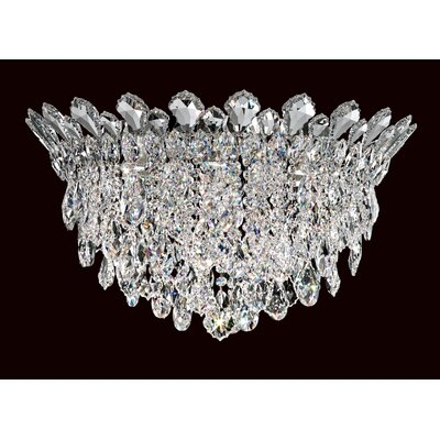 Trilliane Strands 6-Light Flush Mount Crystal Grade: Spectra