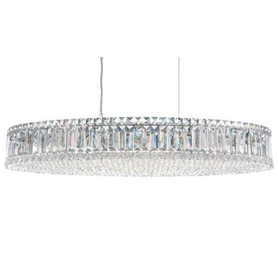 Plaza 16-Light Crystal Pendant Crystal Type: Spectra Clear