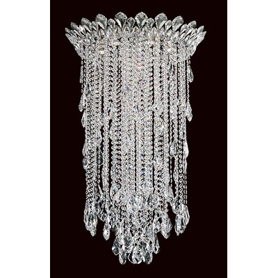 Trilliane Strands 6-Light Flush Mount Size: 71 H x 24 W, Crystal Grade: Spectra