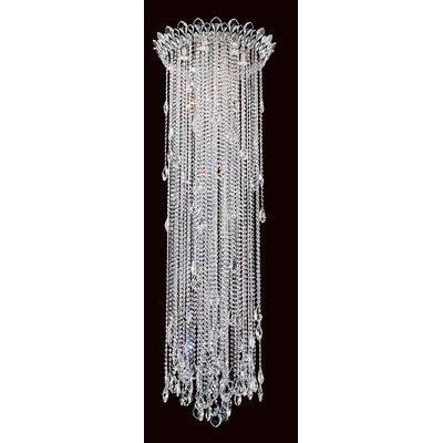 Trilliane Strands 6-Light Flush Mount Size: 71 H x 24 W, Crystal Grade: Heritage Handcut