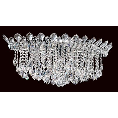 Trilliane Strands 6-Light Flush Mount Crystal Type: Spectra Clear