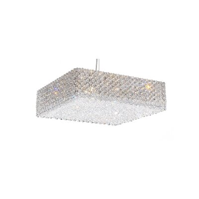 Refrax 13-Light Crystal Pendant Crystal Type: Swarovski Elements Bullet