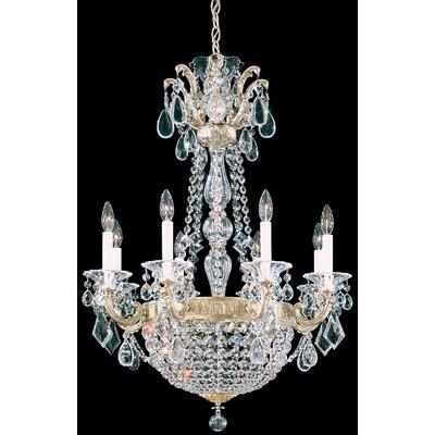 La Scala Empire 10-Light Candle-Style Chandelier