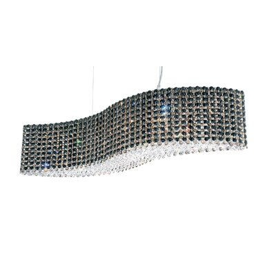 Refrax 13-Light Kitchen Island Pendant Crystal Type: Swarovski Elements Jaguar