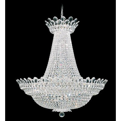Trilliane Empire Chandelier Size / Crystal Color: 43 H x 40 W x 40 D / Strass Clear
