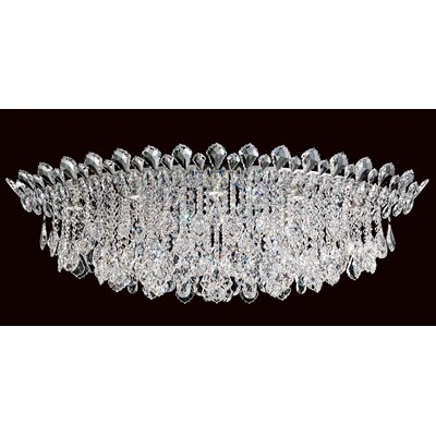 Trilliane Strands 8-Light Flush Mount Crystal Type: Spectra Clear