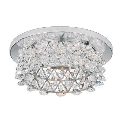 Vertex 4.5 Recessed Trim Crystal Type: Swarovski Elements Clear