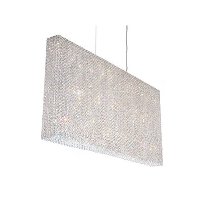 Refrax Strip 23-Light Crystal Pendant