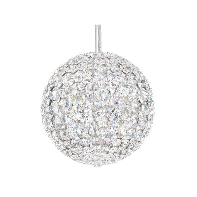 Da Vinci 4-Light Globe Pendant Crystal Type: Swarovski Elements Clear
