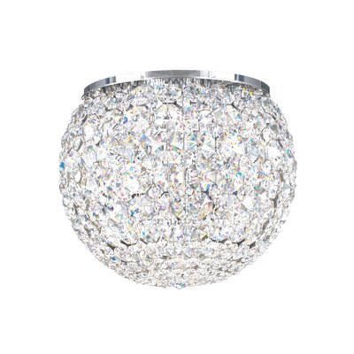 Matrix 4-Light Flush Mount Crystal Grade: Spectra