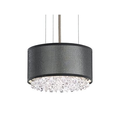 Eclyptix 2-Light Drum Pendant Crystal Type: Heritage Clear