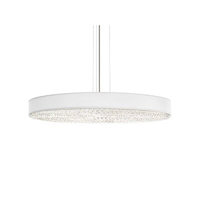 Eclyptix 20-Light Drum Pendant Crystal Type: Spectra Clear