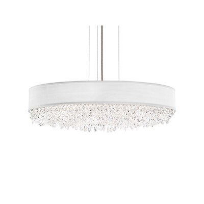 Eclyptix 7-Light Drum Pendant Crystal Type: Heritage Clear