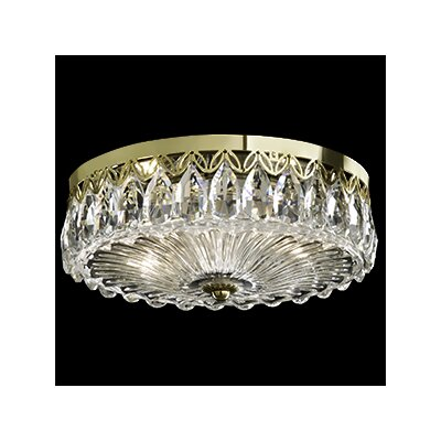 Fontana Luce 2-Light Flush Mount Finish: Heirloom Gold