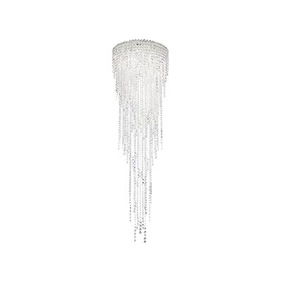 Chantant 5-Light Flush Mount Crystal Type: Heritage Clear