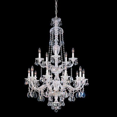Sterling 15-Light Candle-Style Chandelier