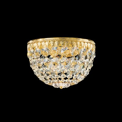 Petit 3-Light Flush Mount Crystal Type: Swarovski Elements Clear