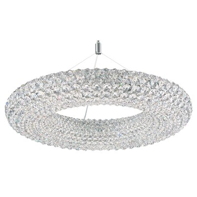 Cassini 15-Light Crystal Pendant Crystal: Swarovski