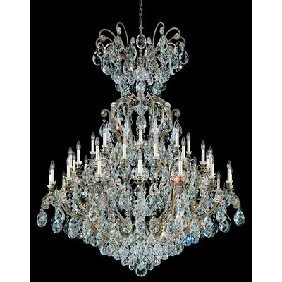 Renaissance 41-Light Crystal Chandelier