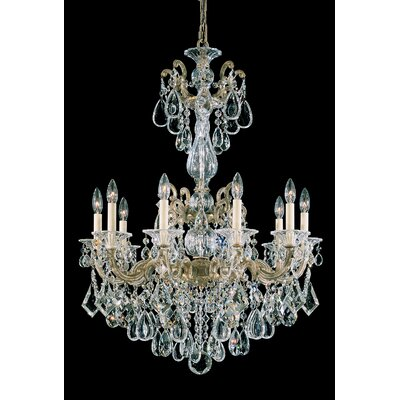 La Scala 10-Light Crystal Chandelier