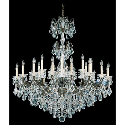 La Scala 27-Light Candle-Style Chandelier