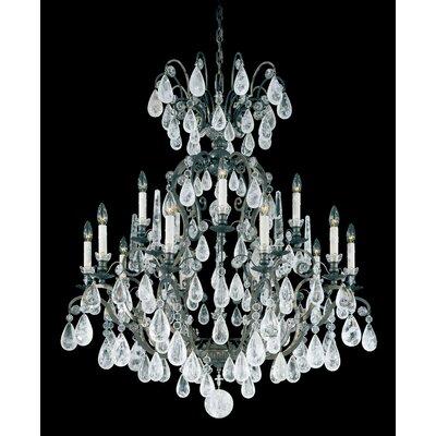 Versailles Rock 15-Light Crystal Chandelier