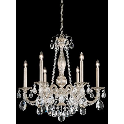 Alea 6-Light Crystal Chandelier