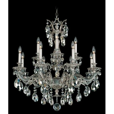 Milano 12-Light Candle-Style Chandelier
