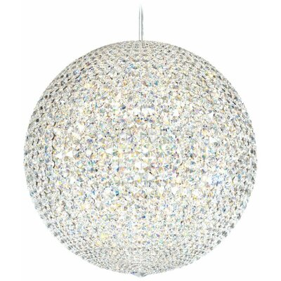 Da Vinci 30-Light Globe Pendant Crystal: Clear Spectra