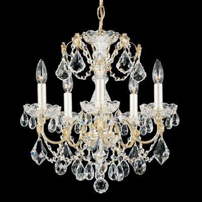 Century 5-Light Crystal Chandelier