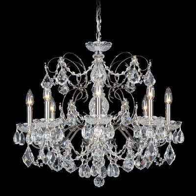 Century 8-Light Candle-Style Chandelier