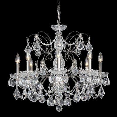 Century 8-Light Crystal Chandelier
